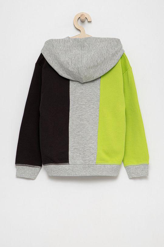 Guess - Bluza bawełniana dziecięca jasny szary