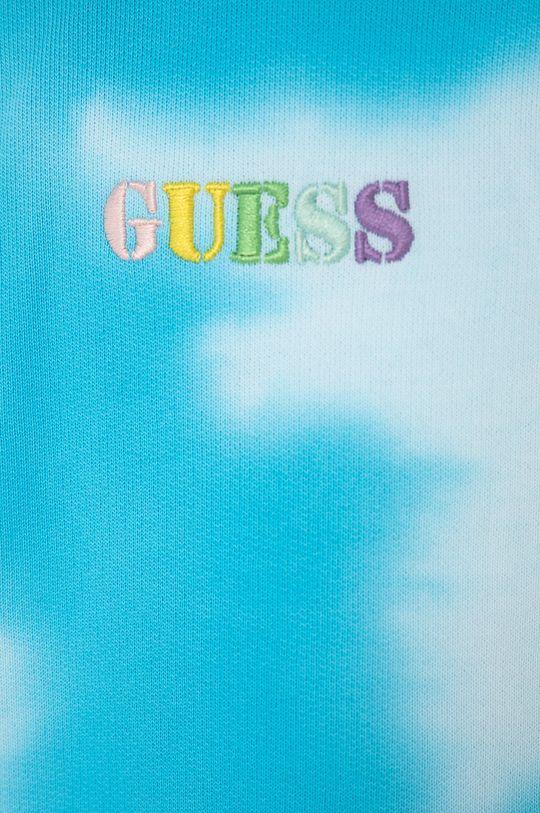 světle modrá Guess - Dětská bavlněná mikina