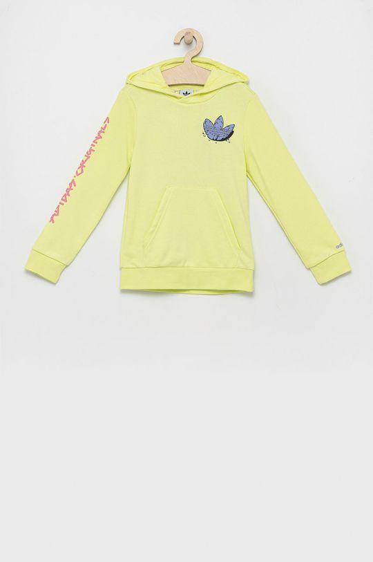 jasny żółty adidas Originals - Bluza dziecięca Dziecięcy