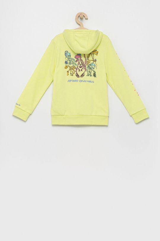 adidas Originals - Bluza dziecięca jasny żółty