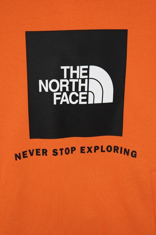 The North Face - Bluza bawełniana dziecięca 100 % Bawełna
