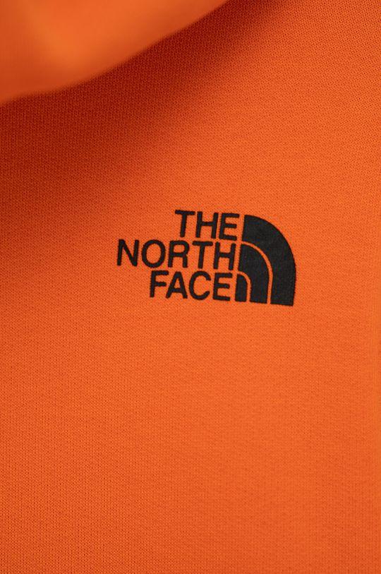 pomarańczowy The North Face - Bluza bawełniana dziecięca