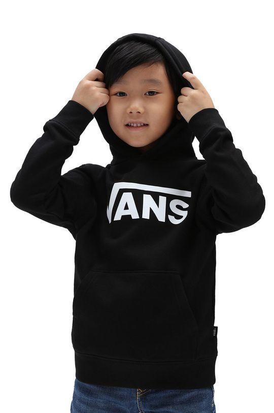 czarny Vans - Bluza bawełniana dziecięca Dziecięcy