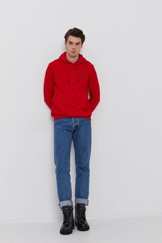 Karl Lagerfeld - Bluza czerwony