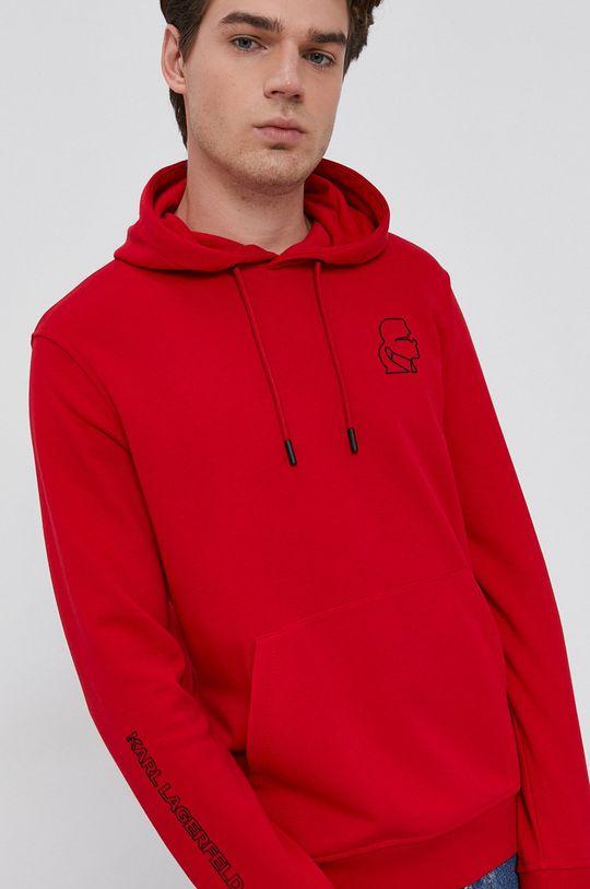 czerwony Karl Lagerfeld - Bluza