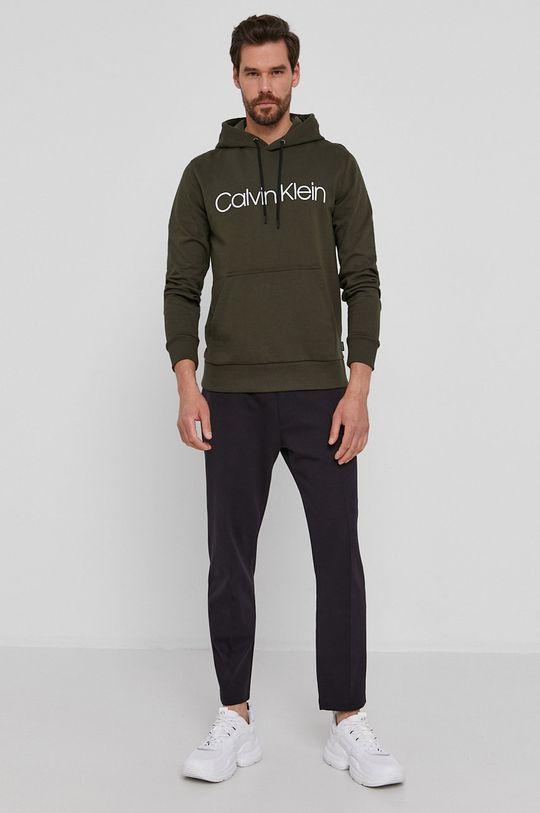 Calvin Klein - Bluza oliwkowy