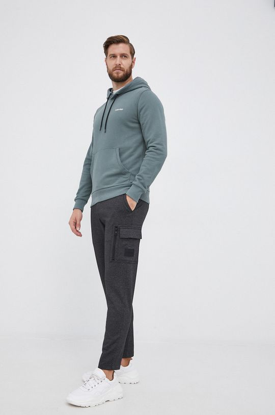 Calvin Klein - Bluza zielony