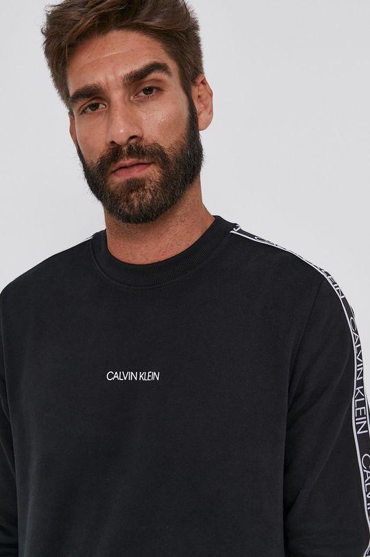černá Calvin Klein - Bavlněná mikina