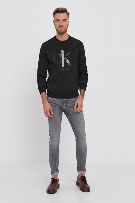Calvin Klein Jeans - Mikina černá