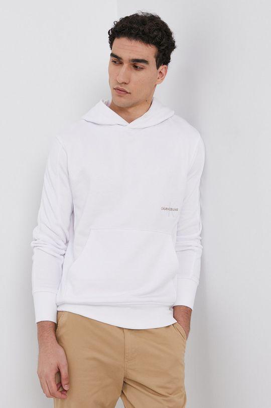 biały Calvin Klein Jeans - Bluza Męski