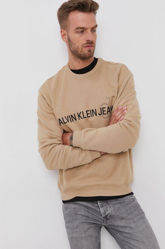 Calvin Klein Jeans - Bluza beżowy