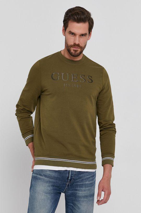 oliwkowy Guess - Bluza
