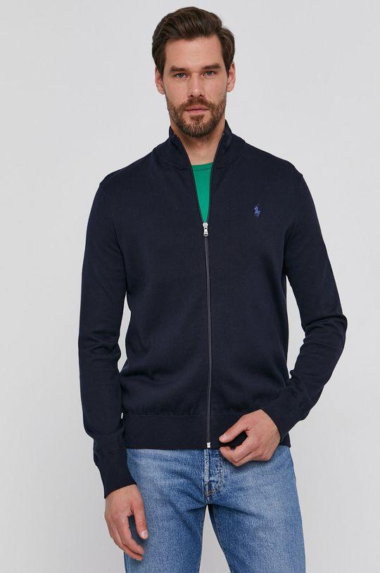 granatowy Polo Ralph Lauren - Bluza bawełniana Męski
