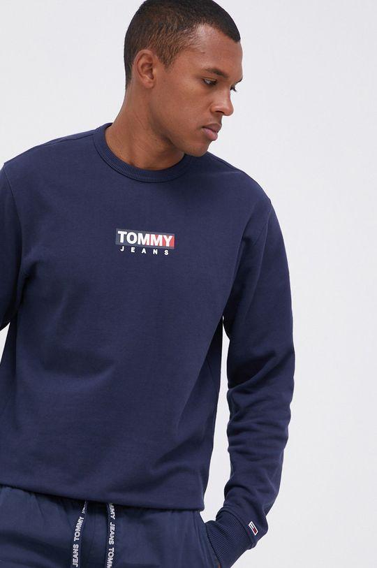 granatowy Tommy Jeans - Bluza bawełniana