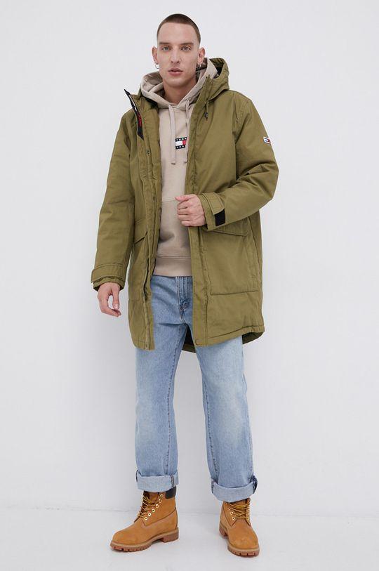 Tommy Jeans - Bluza bawełniana cielisty