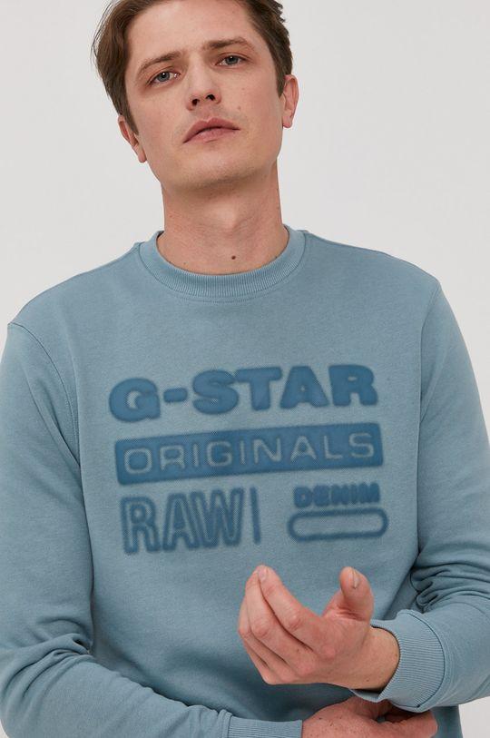 niebieski G-Star Raw - Bluza