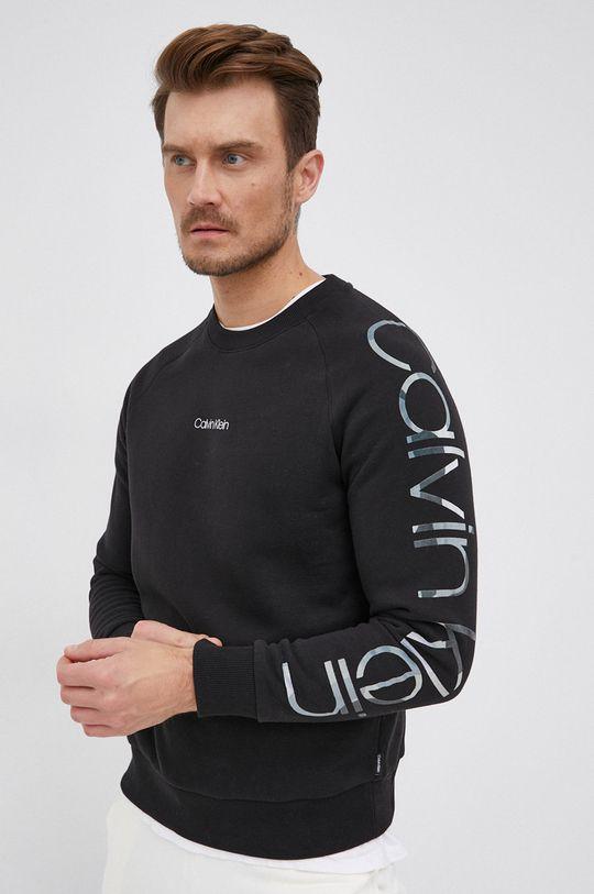 czarny Calvin Klein - Bluza Męski