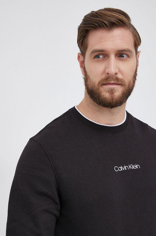 czarny Calvin Klein - Bluza bawełniana