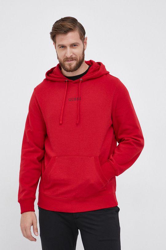 Guess - Bluza czerwony