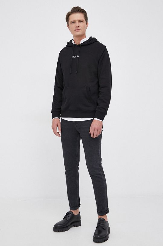 Guess - Bluza czarny