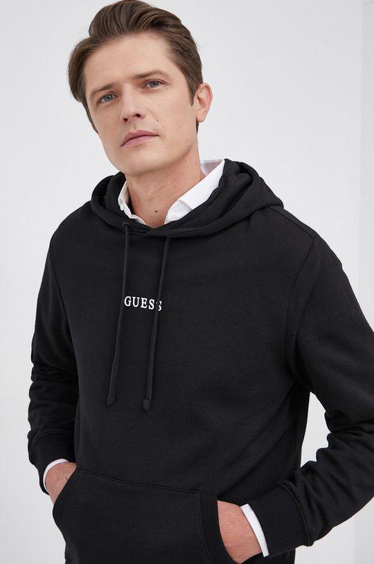 czarny Guess - Bluza
