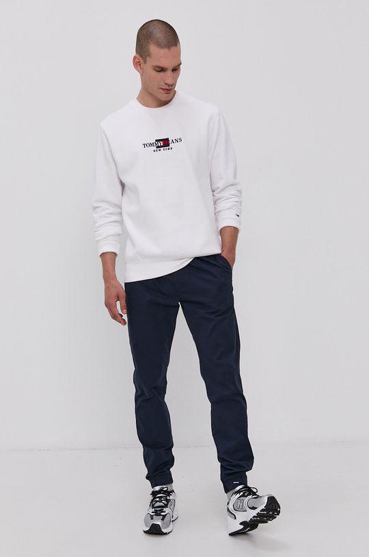 Tommy Jeans - Mikina bílá