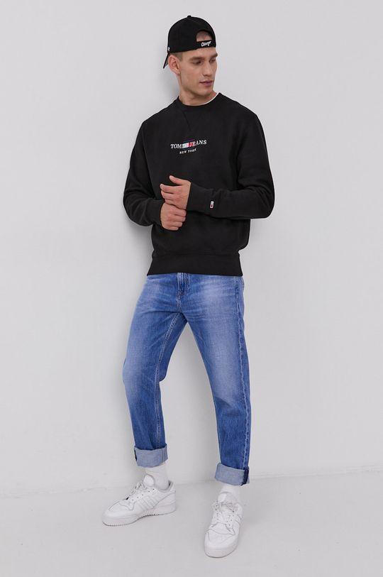 Tommy Jeans - Mikina čierna