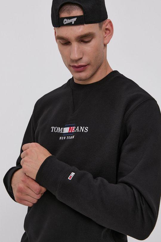 čierna Tommy Jeans - Mikina