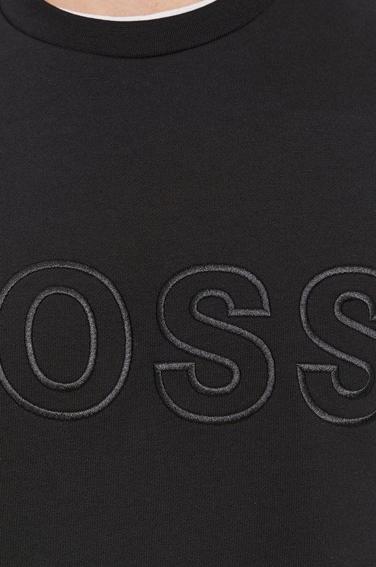Boss - Bluza bawełniana Męski