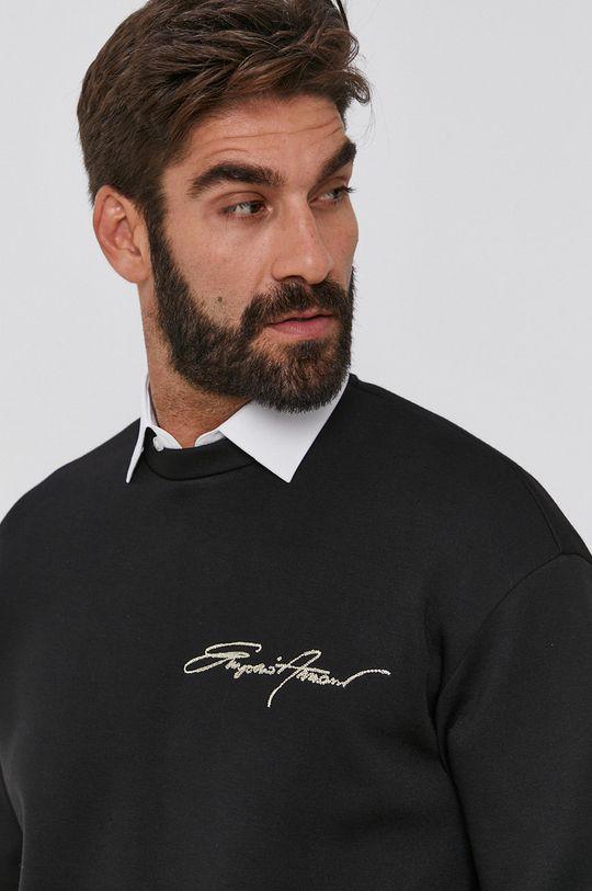 czarny Emporio Armani - Bluza