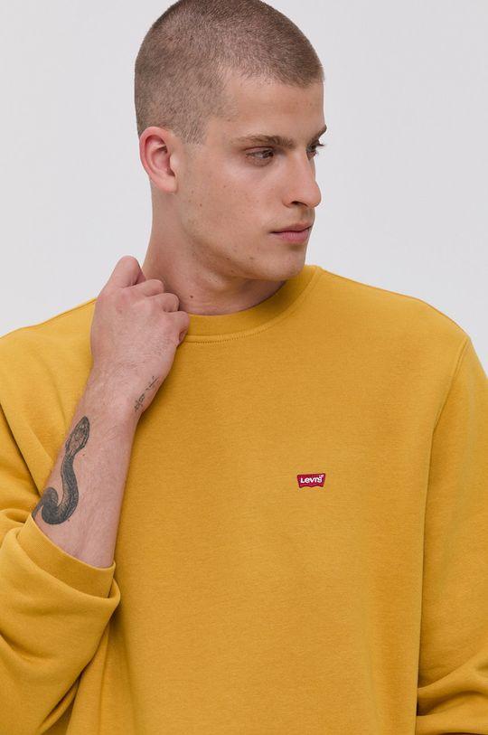 żółty Levi's - Bluza