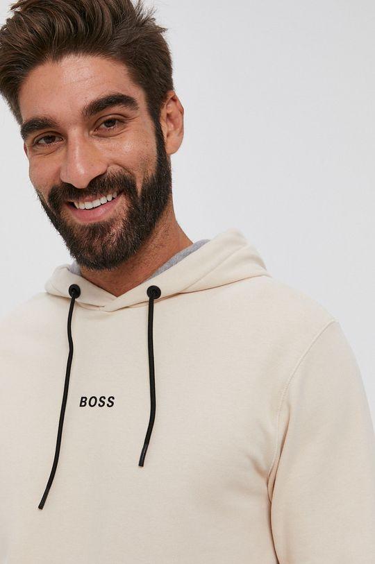 kremowy Boss - Bluza Boss Casual