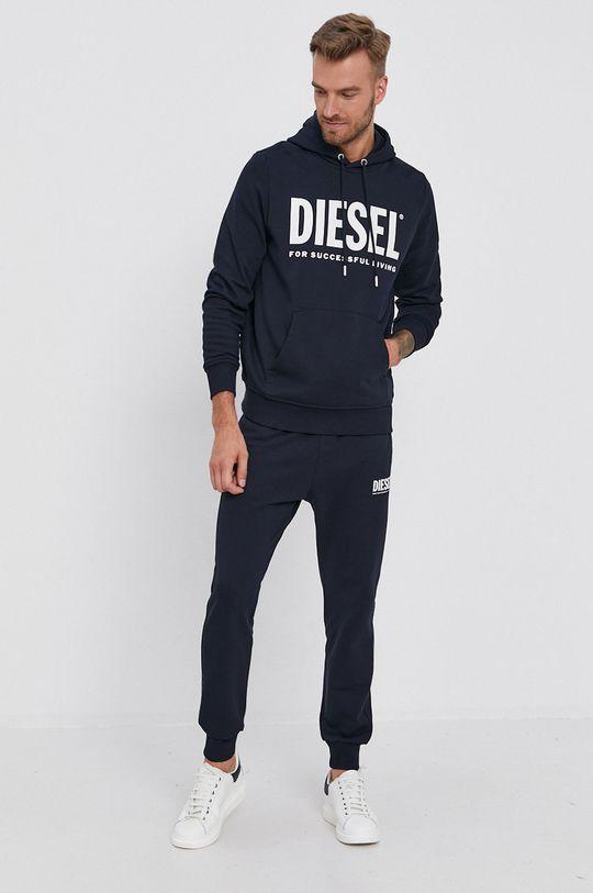 Diesel - Bavlněná mikina námořnická modř