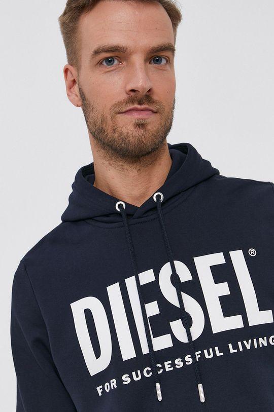 námořnická modř Diesel - Bavlněná mikina