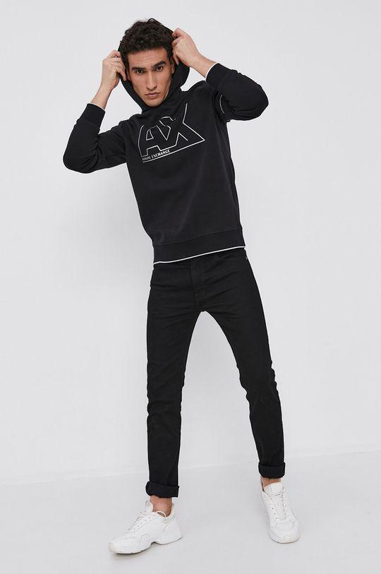 Armani Exchange - Bluza czarny
