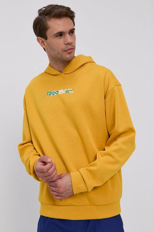 Reebok - Mikina žlutá