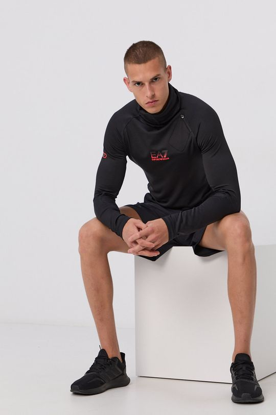 negru EA7 Emporio Armani - Bluza De bărbați