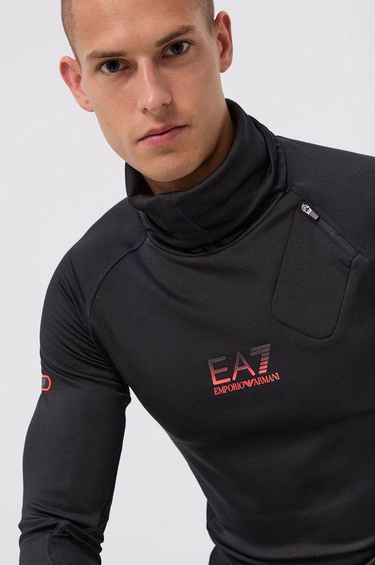 negru EA7 Emporio Armani - Bluza