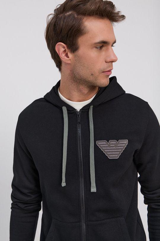 czarny Emporio Armani Underwear - Bluza