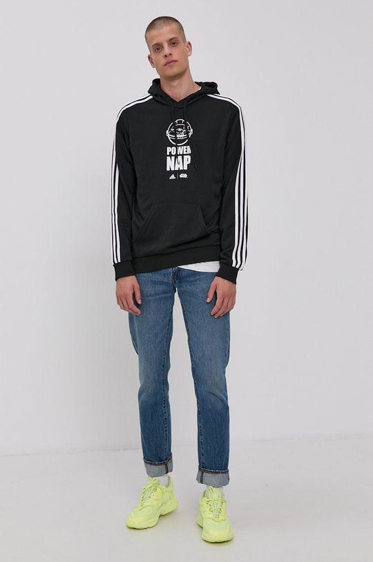 adidas - Bluza x Star Wars czarny