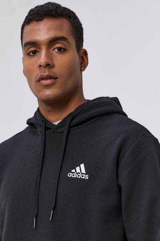 czarny adidas - Bluza