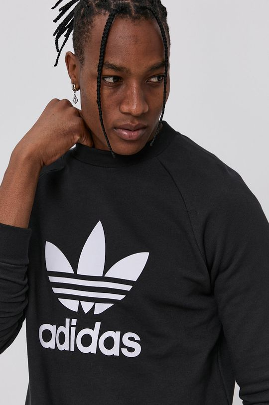 czarny adidas Originals - Bluza bawełniana