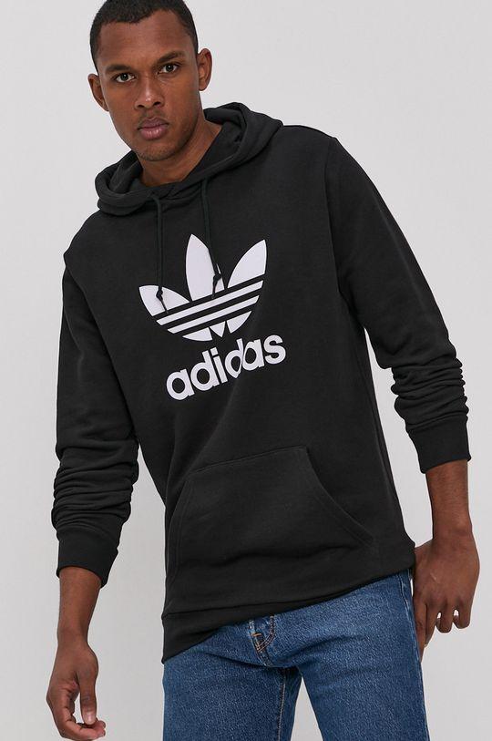 adidas Originals - Bavlněná mikina černá