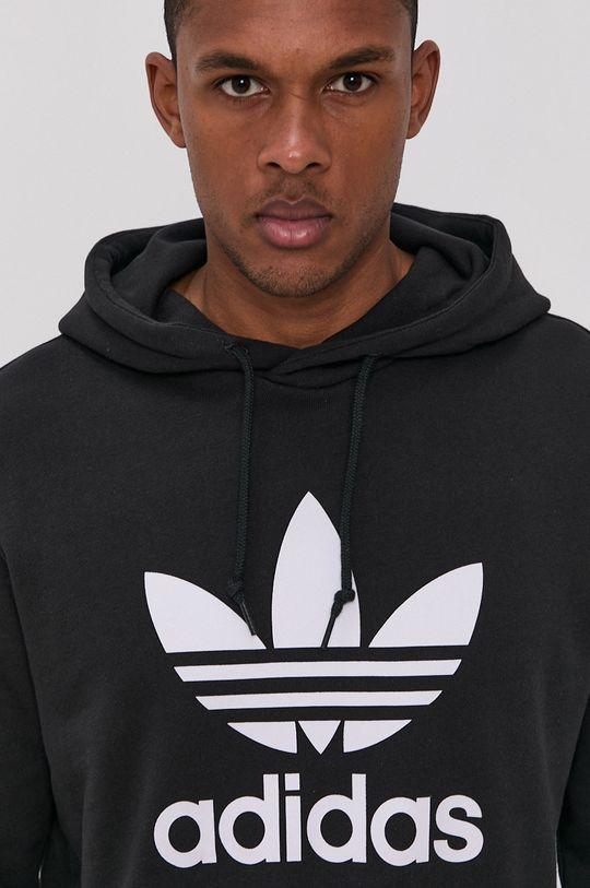 černá adidas Originals - Bavlněná mikina