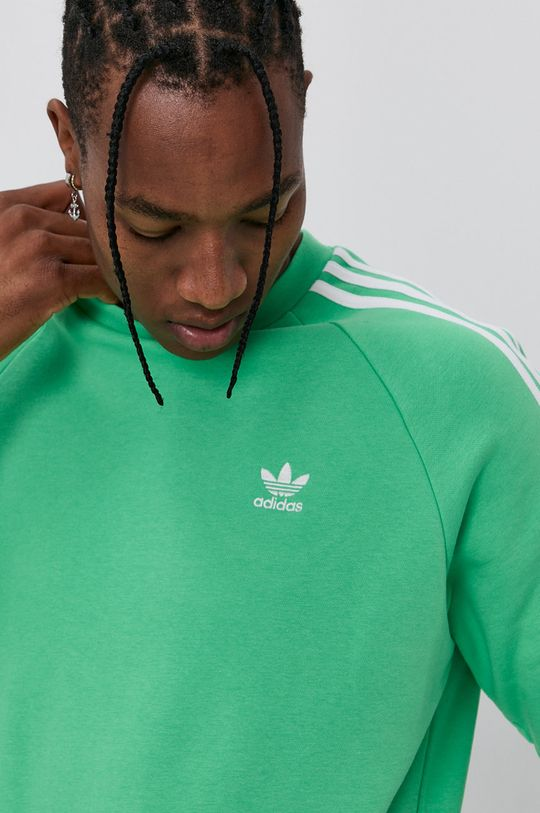 zielony adidas Originals - Bluza Męski