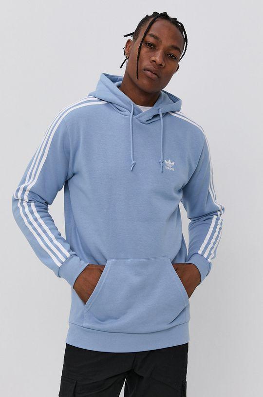blady niebieski adidas Originals - Bluza Męski
