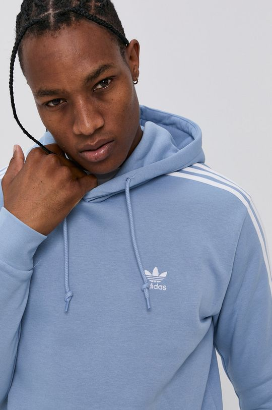 blady niebieski adidas Originals - Bluza