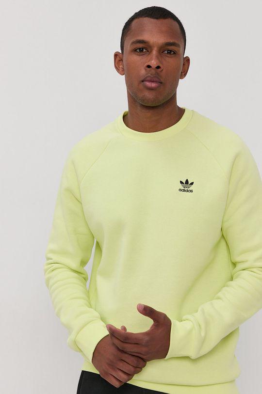 jasny żółty adidas Originals - Bluza Męski