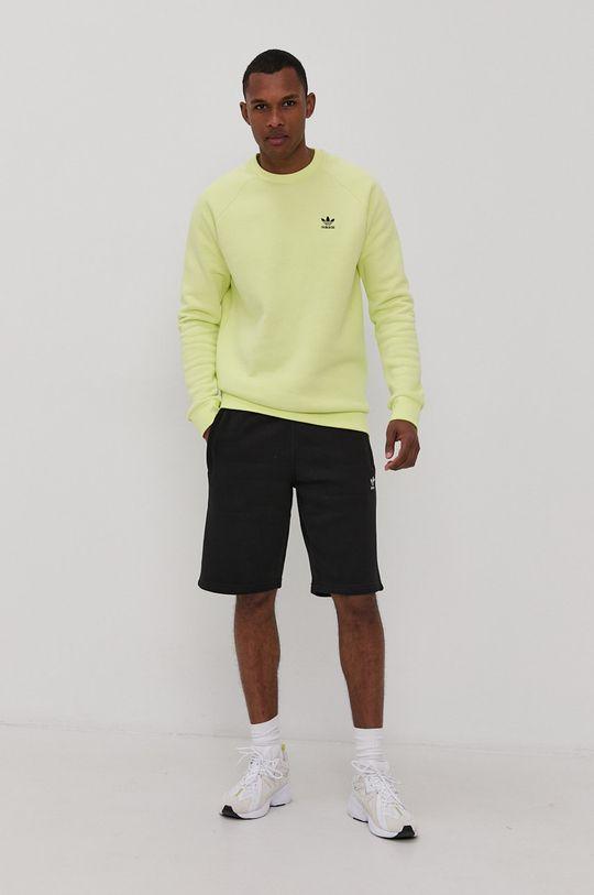 adidas Originals - Bluza jasny żółty