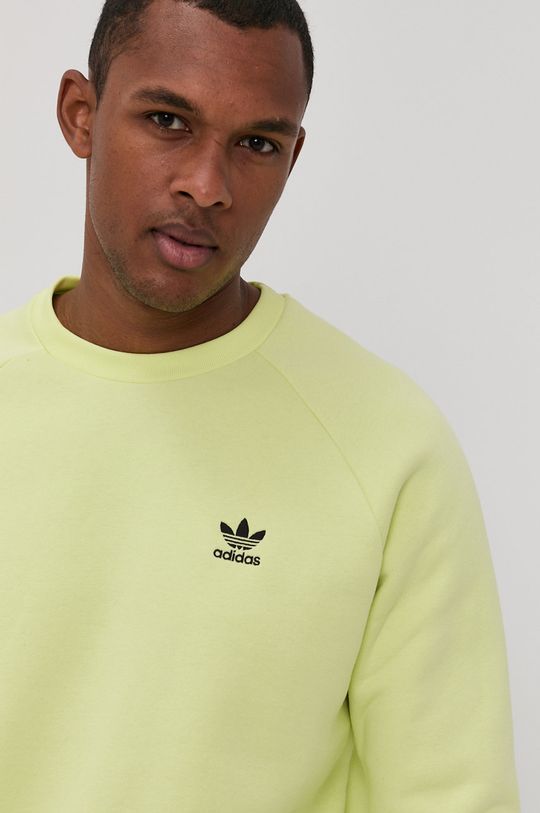 jasny żółty adidas Originals - Bluza
